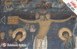 SERBIA - Jesus Christ, Telecom Srbija Telecard 200 Din, 10/03, Used - Joegoslavië