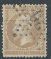 Lot N°22565   N°21, Oblit étoile Chiffrée 20 De PARIS(R.St-Domque-St-Gn ,56) - 1862 Napoleon III
