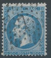 Lot N°22576  Variété/n°22, Oblit étoile Chiffrée 7 De PARIS (R.desVlles-Haudrtes), Filet NORD, Tache Blanche S De POSTES - 1862 Napoleon III