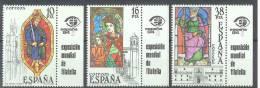 ESPAÑA 1983 - Edifil #2721/23 (con Bandeleta) - MNH ** - 1931-Oggi: 2. Rep. - ... Juan Carlos I