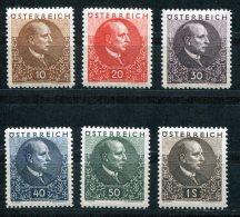 1420 - ÖSTERREICH / AUSTRIA - Mi.Nr. 512-517 - Mit Falz - 1918-1945 1st Republic