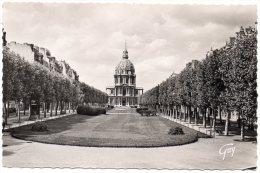 CP, 75, PARIS Et Ses Merveilles, Avenue De Breteuil Et Dôme Des Invalides, Vierge - Piazze