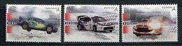 Lot 144 - B 17 - Norvège ** N°  1542 à 1544 - Voitures De Rallye - Norwegen