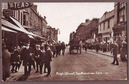 Essex  SOUTHEND  ON SEA High Street  RP E1093 - Southend, Westcliff & Leigh