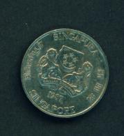 SINGAPORE - 1987 20c Circ. - Singapore