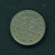 SRI LANKA - 1963 25c Circ. - Sri Lanka