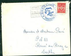 Timbre FM Oblitéré BVillefranche Sur Mer - En 1959  -  Am9025 - Marcophilie (Lettres)