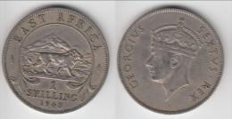 **** AFRIQUE DE L´EST - EAST AFRICA - 1 SHILLING 1948 GEORGE VI **** EN ACHAT IMMEDIAT !!! - British Colony