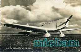 CPSM  THEME AVIONS L´AIGLON CAUDRON RENAULT    T B ETAT - Avions