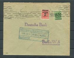 Infla 4.10.1923 Dresden  An Dt. Bank !!  Ansehen !! (Del-2048) - Deutschland