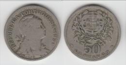 PORTUGAL ****  50 CENTAVOS 1931 LIBERTY **** EN ACHAT IMMEDIAT !!! - Portugal