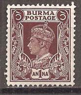 BURMA - MI.NR. # (*) - Myanmar (Burma 1948-...)
