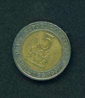KENYA - 1997 5s Circ. - Kenya