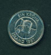 ICELAND - 1987 1k Circ. - Iceland
