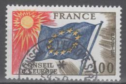 Timbres De Service N° 49 Avec Oblitèration Du Conseil De L'Europe  TTB - Used