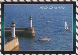 3AD885 BELLE ILE EN MER   ER GERVEUR DEPART POUR LA REGATE PHARES 2 SCANS - Belle Ile En Mer