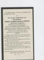 Doodsprentje Goyens Joannes Weduwenaar Van Charlotta Quaeyhaegens Antwerpen 1930 - Images Religieuses