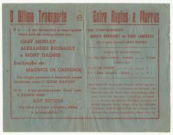 BEJA ♦ ESPLANADA JARDIM ♦ 10.07.1948 ♦ AMALIA RODRIGUES - FADO LAMENTOS ♦ PUBLICIDADE ♦ PO - Programs