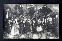 Collection De Poupées Dolls Munecas - Petit Couples Jouets Antique Vintage Toys - Dos Vierge - Jeux Et Jouets