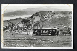 Great Orme Railway & The River Conway & Hills Llandudno - Tram Tramway - 1949 Stamped And Written - Caernarvonshire