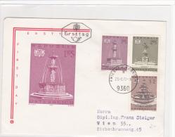 Motive - Culture: 1972 Austria Friesach Kärnten Monuments FDC  (G37-27) - Briefmarken