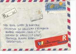 CARTA CIRCULADA SEND POST POST SCHICKEN SENDEN LETTERA CIRCULATED LETTERA CIRCULATED TBE OHL - 1931-Hoy: 2ª República - ... Juan Carlos I