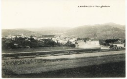 8244- Ain -   AMBERIEU  :  Vue Générale       Phot. F. Vialatte ,Oyonnax - Francia