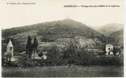 8245- Ain -   AMBERIEU  :  Village Des ALLIMES Et Le Chateau        Phot. F. Vialatte ,Oyonnax - Sonstige Gemeinden