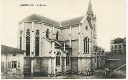 8246- Ain -   AMBERIEU  :  L' Eglise      Phot. F. Vialatte ,Oyonnax - Frankrijk