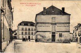 MAREUIL SUR BELLE - Place Du Marché Belle Enseigne BAZINETTE Maison De Confiance Epicerie Avoine Grains Hôtel Commerce - Sonstige Gemeinden