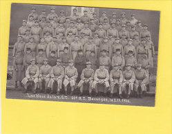 CPA Photo - BESANCON - Les Bleus Du 60e Régiment D´ Infanterie - 3 Novembre 1932 - Besancon