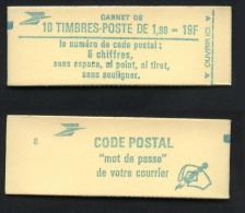 N° 2424 C 1 - X X - Type Liberté De Delacroix 1.90 Fr Vert ( Timbre N° 2424 ) - ( F 658 ) - Carnets