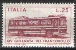 ITALIA - ITALIE - ITALY - 1972 -  XIV JOURNEE DU TIMBRE YT 1117 ** - Bus