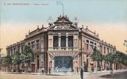 CPA - Montevidéo - Teatro Urquisa - Uruguay