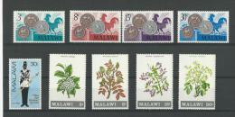 Malawi: 143/ 146 + 169/ 173 ** - Malawi (1964-...)