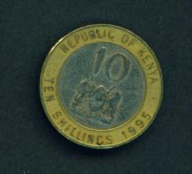 KENYA - 1995 10s Circ. - Kenya