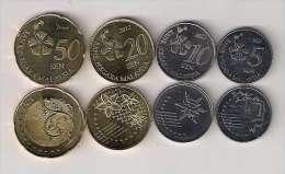 Malaysia  2012. UNC Coin Set - Malaysia