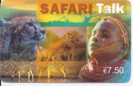 Carte Téléphonique Prépayée 7,5 € - SAFARI Talk - Bis - Francia