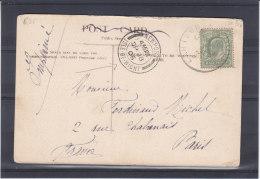 Grande Bretagne - Ile De Wight - Carte Postale De 1906 - Oblitération Newport And Carisbrooke - 1902-1951 (Rois)