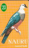 NAURU $20 PACIFIC PIGEON BIRD  MINT  READ DESCRIPTION !! - Nauru