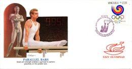 VENEZUELA. N°1414 Sur Enveloppe 1er Jour (FDC) De 1988. J.O. De Séoul/Gymnastique. - Gymnastik