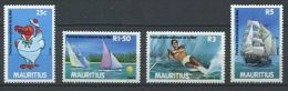 114 MAURICE 1987 - Voiliers Bateaux Surf - Neuf Sans Charniere (Yvert 563/66) - Maurice (1968-...)