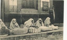 Tanger Vendeuses De Pain PTT  Bread Sellers Femmes Voilées Bakery  Edit Nahon Et Lasry - Tanger