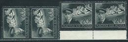 Ungheria 1942 PA Usato - Mi.695  Yv.52  2coppie - Posta Aerea