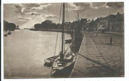 LE POULIGUEN -COUCHER DE SOLEIL DEVANT LE PORT -Loire Atlantique (44) - - Le Pouliguen