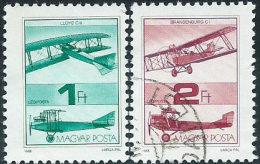 Ungheria 1988 PA Usato - Mi.3984/5  Yv.459/60 - Posta Aerea