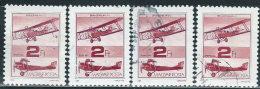 Ungheria 1988 PA Usato - Mi.3985  Yv.460  X4 - Posta Aerea