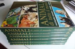 Lib201 Enciclopedia Sistematica Ecologica Etologica, Animali Di Tutto Il Mondo, Pesci, Anfibi, Mammiferi, Uccelli, 1977 - Enciclopedie