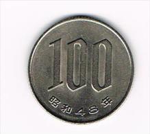- - JAPAN  100 YEN 1973 ( 48 ) - Japon