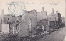 DIVISION D'INFANTERIE 60ème - Le Prévot - Cachet Rond - CP Saint Hilaire - WW I